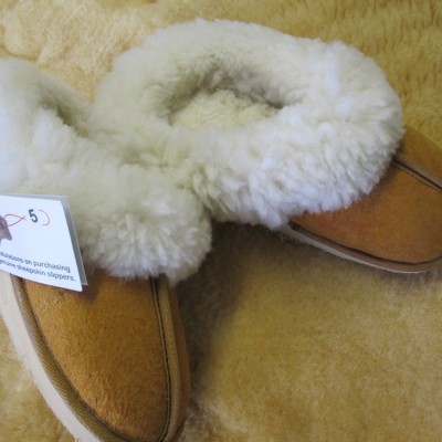 Slip on delux tan 2